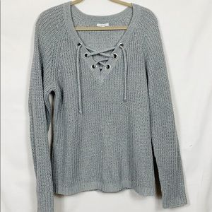 Maurices Gray Sweater Size XL